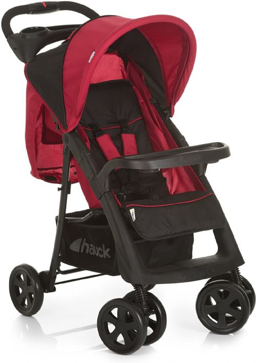 New hauck shopper neo II pushchair+raincover Caviar Tango from New Born  upto 25 KG